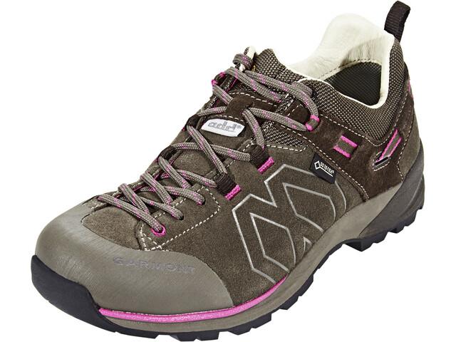c43653cc437 Garmont Santiago Low GTX Hiking Low Cut Shoes Women brown/fucsia